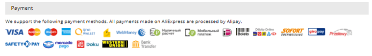 AliExpress Review Payment