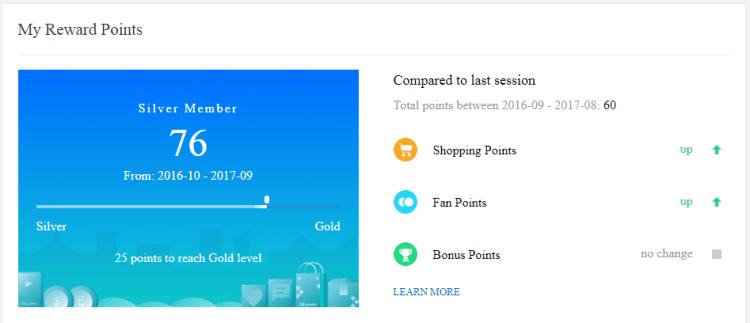 AliExpress Review My Rewards