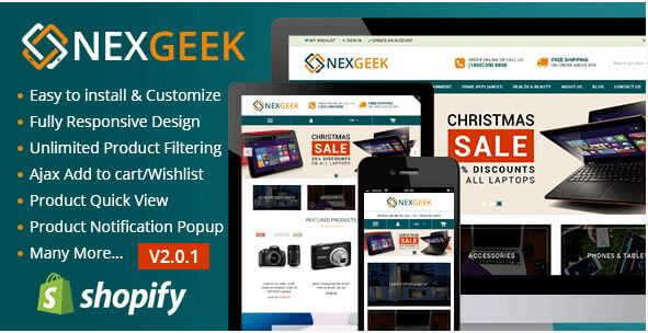 NexGeek Theme for Gadgets and Electronics Niche