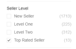 fiverr backlinks filter seller level