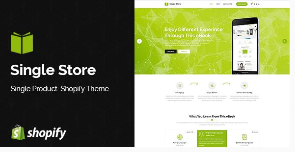 Single Store Shopify Theme