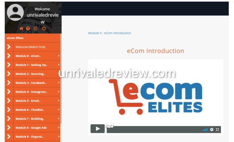 eCom Elites Intro