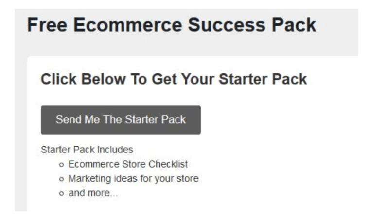 eCommerce Success Pack