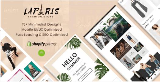 LaParis Shopify Theme SEO Friendly