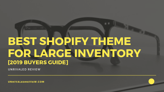 Best Shopify Theme For Large Inventory [2019 Buyers Guide]