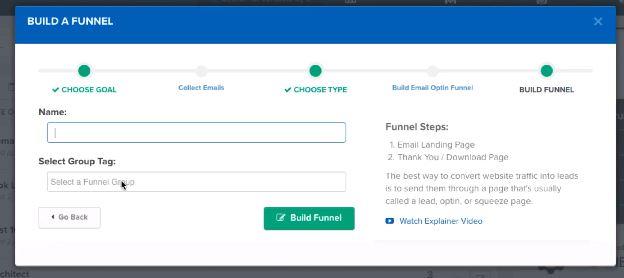 ClickFunnels Builder Type