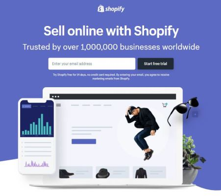 Shopify 2 Stores Free Trial Signup