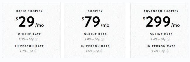 Shopify Transaction Fees