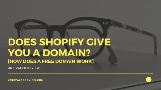 Does Shopify Give You A Domain [How Does A Free Domain Work]