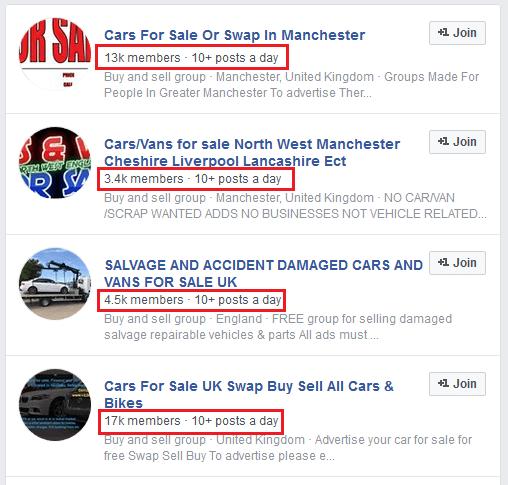 masini anglia cauta pe facebook grupuri
