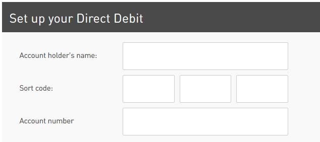 masini anglia rac plata direct debit completeaza date