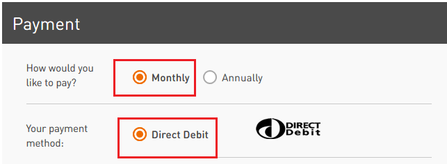 masini anglia rac plata direct debit