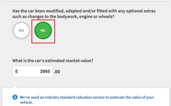 asigurarea masinii go compare 4