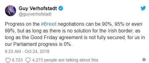 brexit update octombrie 2018 guy