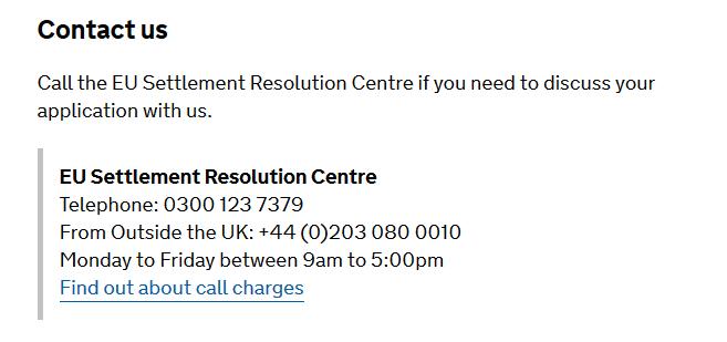 aplicatie rezidenta contact number