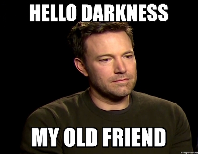 Do Simon And Garfunkel Know That 'Hello Darkness My Old Friend ...