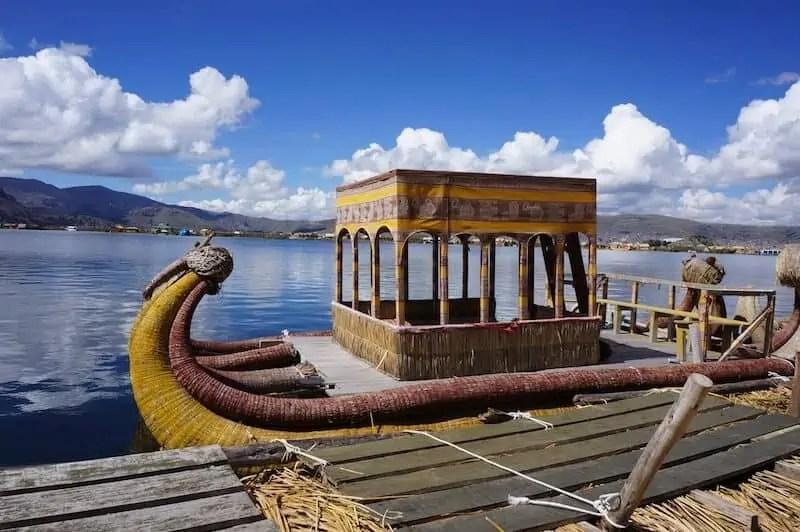 Au Lac Titicaca