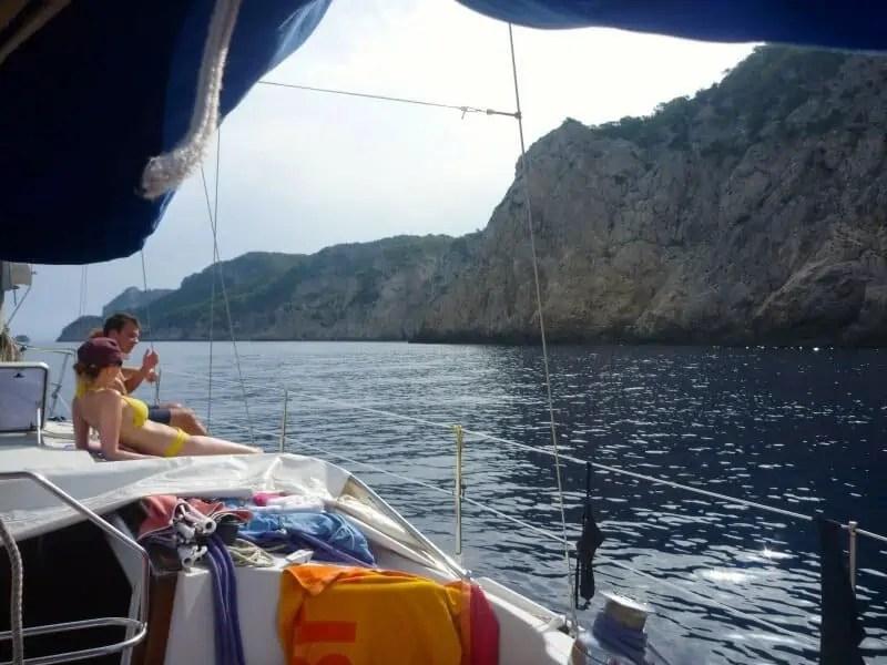 Navigation paisible