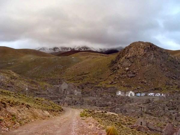 Village fantôme San Antonio Viejo Bolivie
