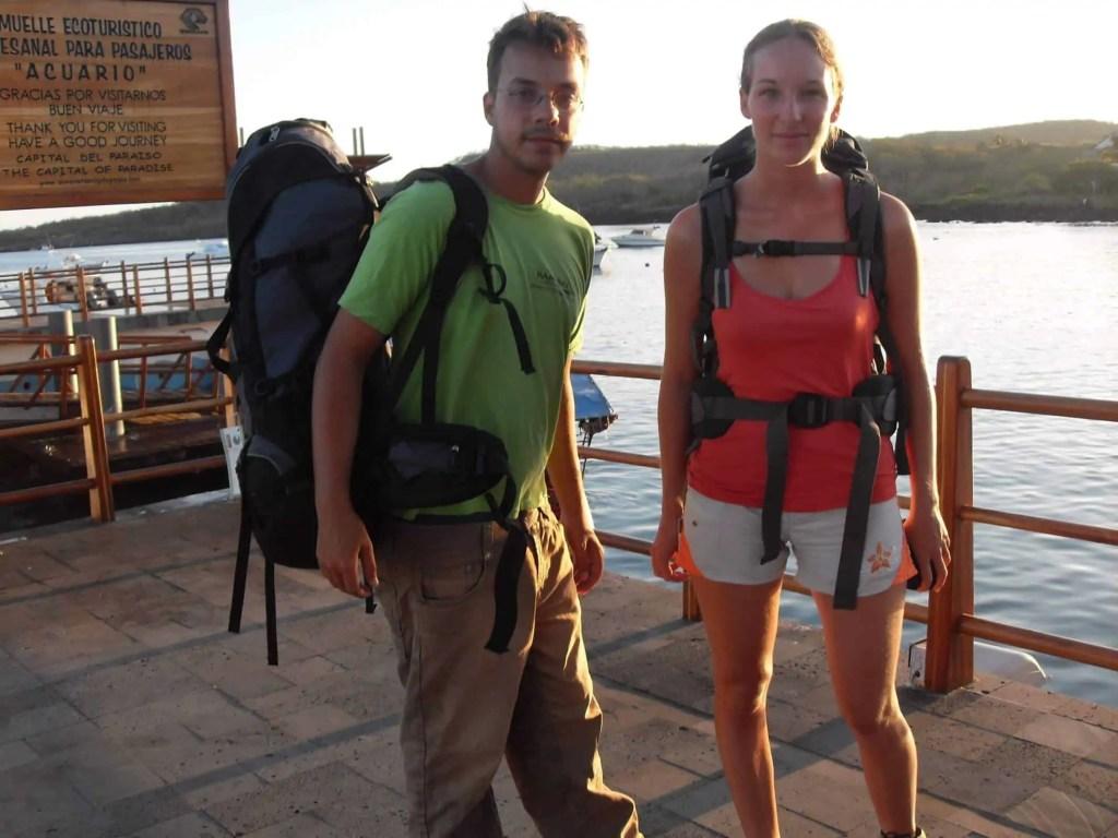 Départ Galapagos San Cristobal