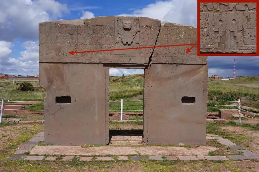 Porte du Soleil, Tiwanaku, Bolivie