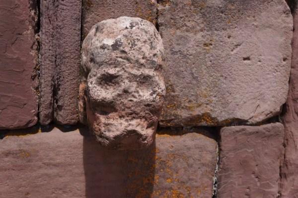 Tiwanaku, temple semi-souterrain