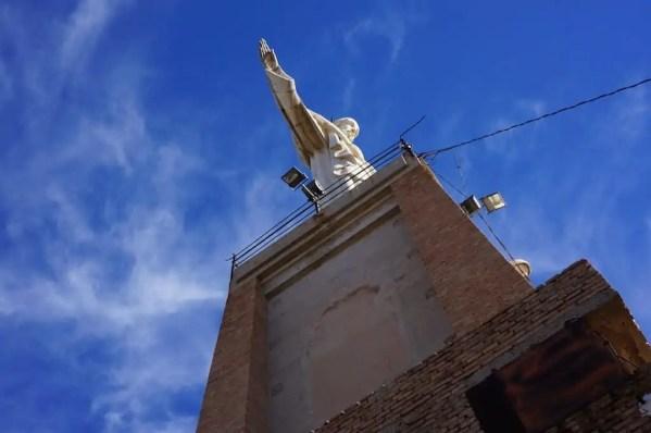 Sommet, Christ, Monteaguedo, Espagne