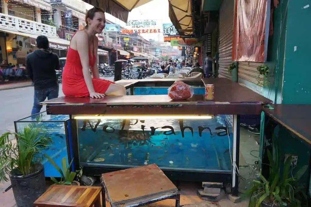 Pub Street, Siem Reap, Cambodge