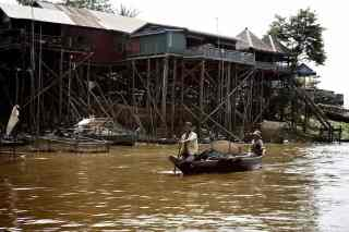 Village flottant, Cambodge, Asie
