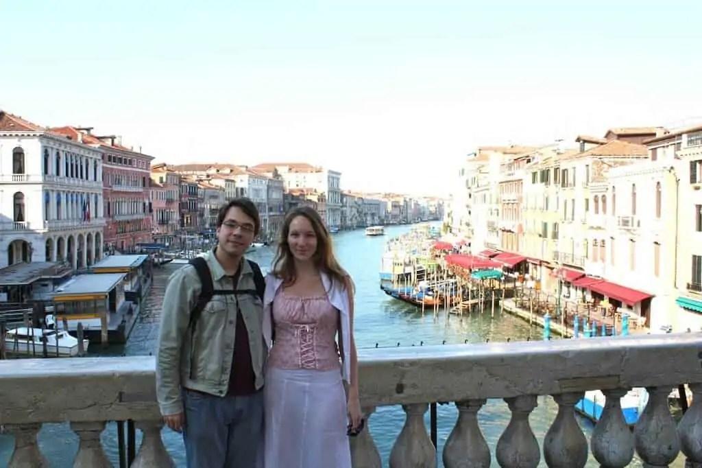 Venise, Italie, romantique, lune de miel, amoureux, voyageurs, Italie