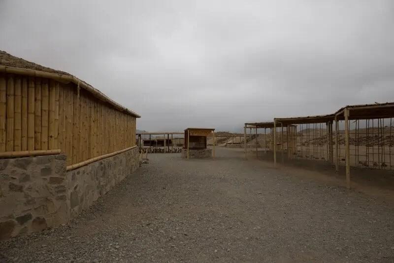 Caral, Pérou, archéologie