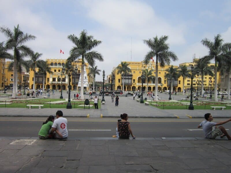 Lima, Plaza de Armas, Pérou