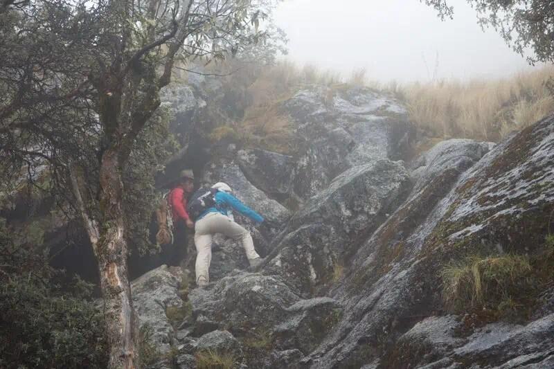 Entre trek et escalade