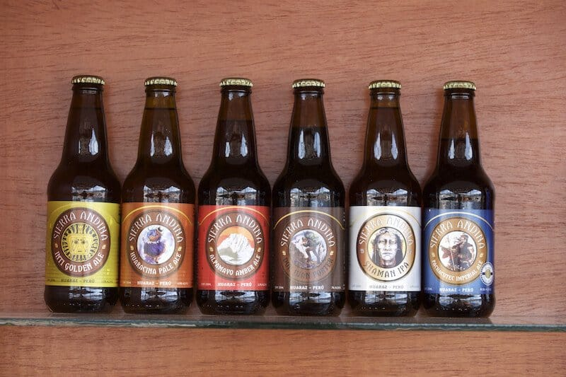 Huaraz, bière