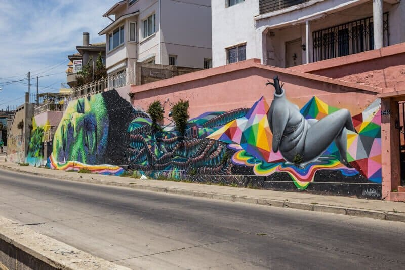 Valparaiso, Chili, graffiti, Street Art