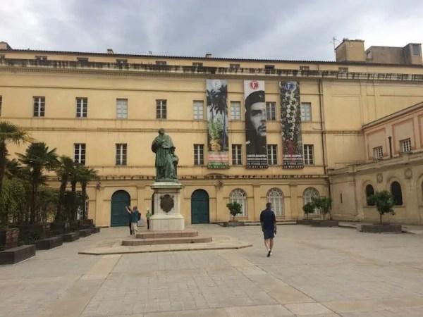 Ajaccio, roadtrip, Corse, musee Fesch