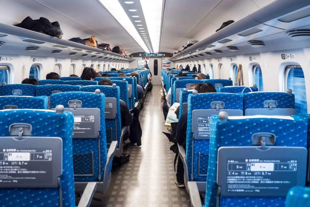 Japon, train, voyage