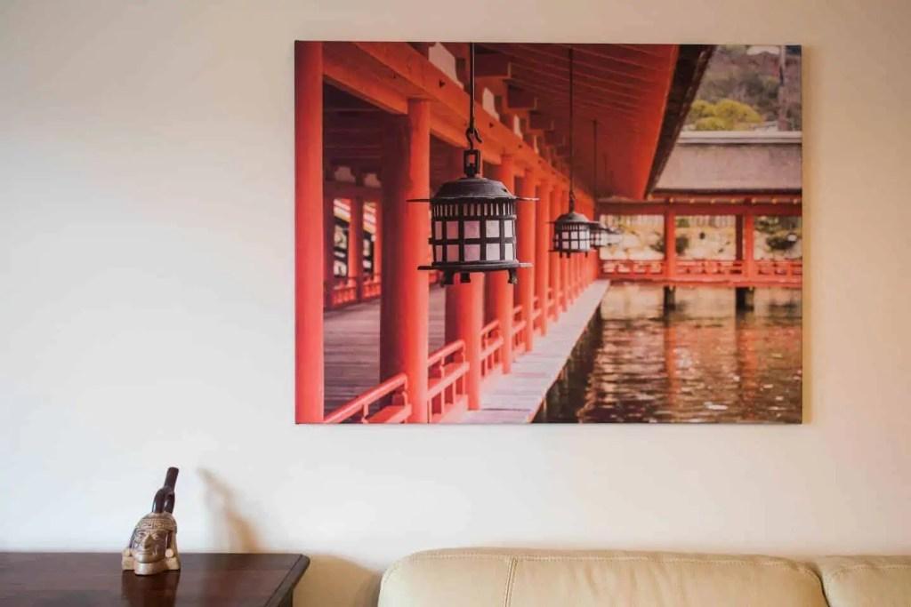 photo, toile, Japon