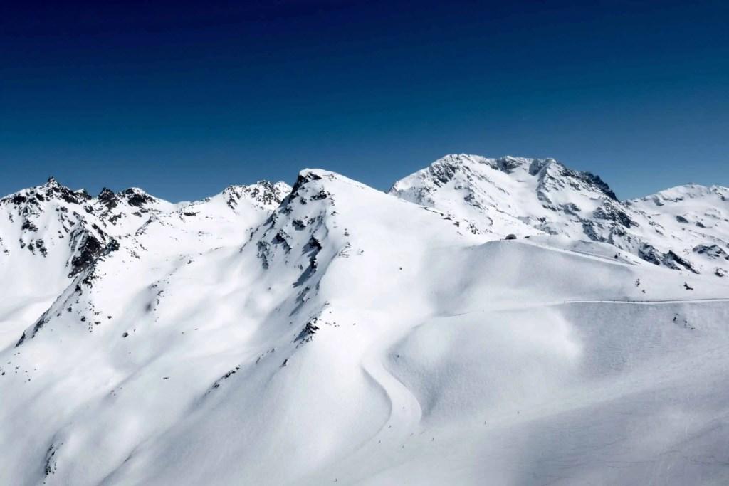 Alpes, Menuires, montagne, zen ski, yoga, yogiski