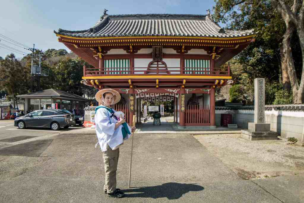 Shikoku, pèlerinage, pèlerin, famille, bébé, Japon, voyage, henro, ohenro, temple, Amandine, maman, Manea