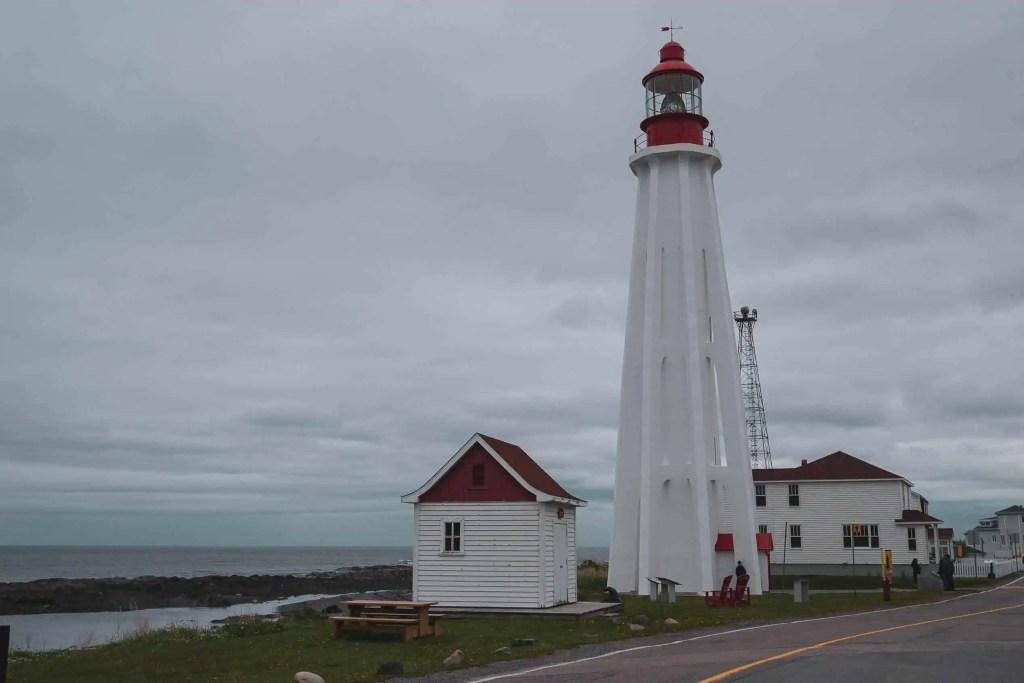 Québec, Canada, Québec Maritime, Gaspésie, route des phares, circuit, phare, mer, parc, Bas-Saint-Laurent, sous-marin, Onongada de la Pointe-au-Père