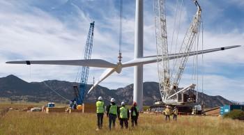 La red de la energía eólica