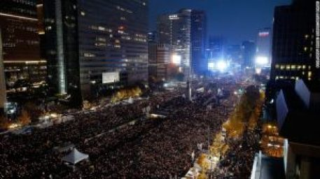 South Korean protest