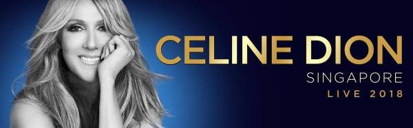 Celine Dion Singapore 2018