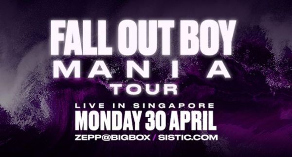 Fall Out Boy Singapore 2018