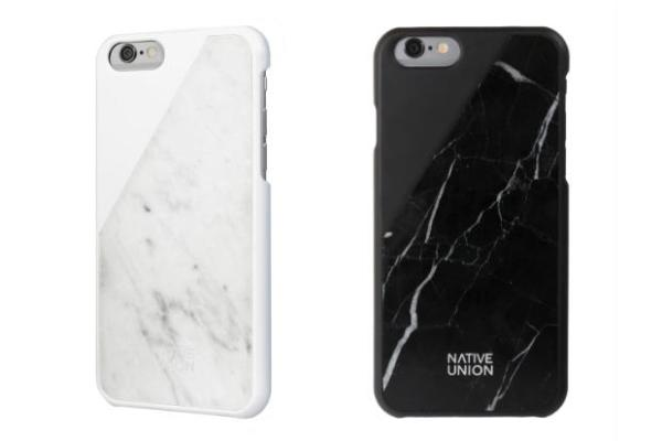 CLIC Marble by Native Union Couple Phone Case