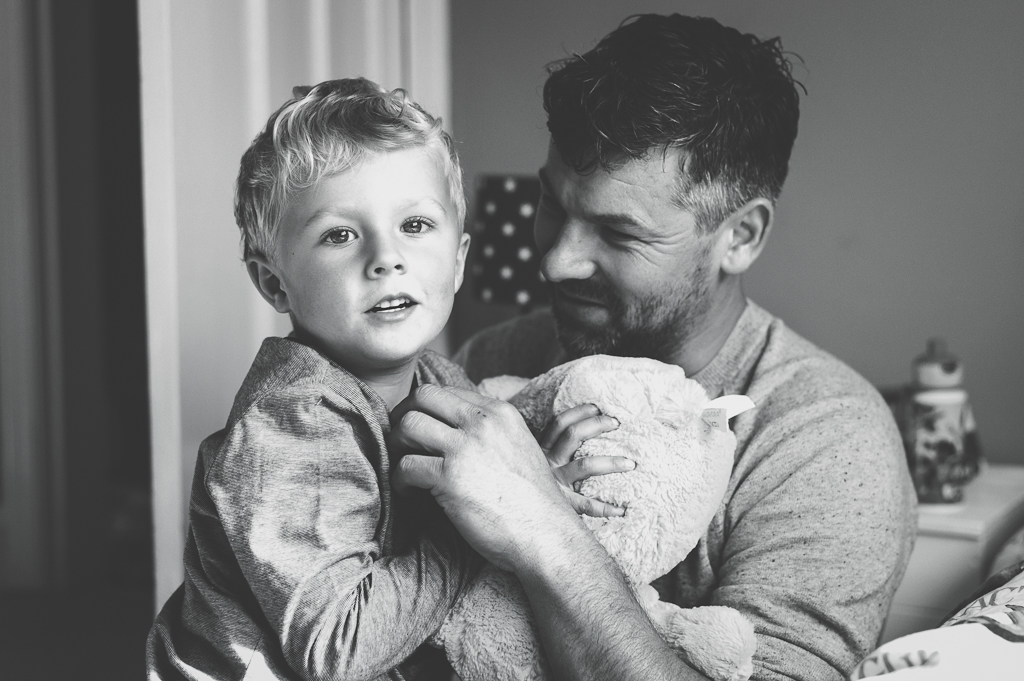 Child and Father Photographer Northumberland