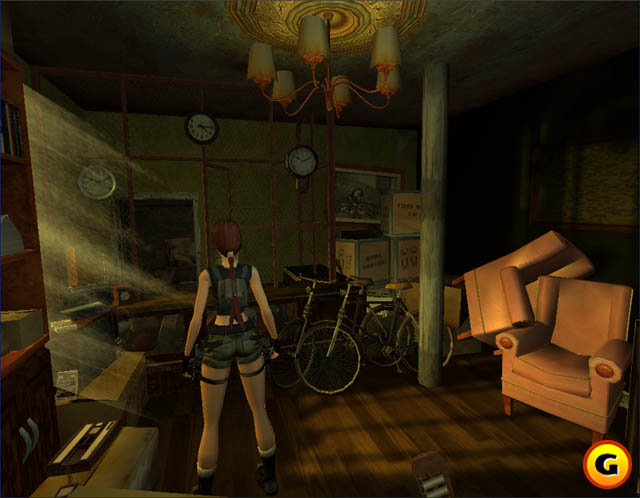 Tomb Raider The Angel Of Darkness PS2 Beta Unseen64