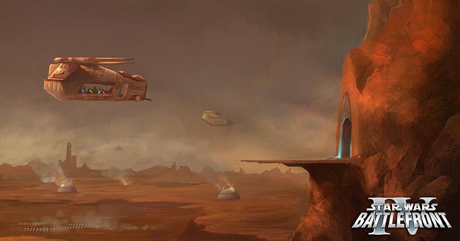 Star Wars Battlefront IV 4 X360PS3 Concept Unseen64