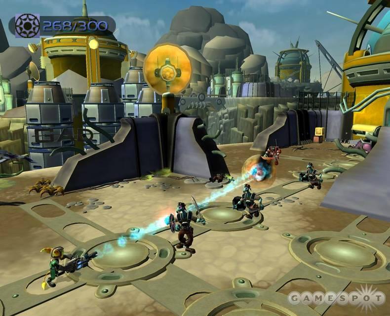 Ratchet Amp Clank Going Commando PS2 Beta Unseen64